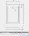 Radaway Doros F Compact brodzik prostokątny 120x70x12cm SDRFP1270-05