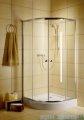 Radaway Classic A Kabina prysznicowa półokrągła z drzwiami przesuwnymi 90x90x185 szkło satinato