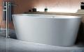 Corsan Salina wanna wolnostojąca 170x72 cm biała + syfon klik-klak aranzacja