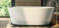 Corsan Salina wanna wolnostojąca 170x72 cm biała + syfon klik-klak E-026XL