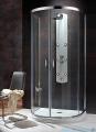 Radaway Premium Plus P Kabina półokrągła 100x90 szkło brązowe 33300-01-08N