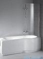 Riho Dorado wanna prostokątna 170x75cm lewa parawan+obudowa+nogi+syfon BA81/09/AMC70/P025/GZT94000762