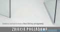 Espera KDJ Kabina Radaway prysznicowa 100x80 prawa szkło przejrzyste bez progu