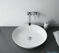 Elita Rika umywalka nablatowa ceramiczna 52x39cm biały połysk 145056