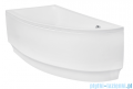 Besco Praktika 150x70cm wanna asymetryczna lewa + obudowa + syfon