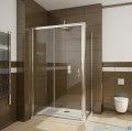 Radaway Premium Plus DWJ+S kabina prysznicowa 110x80cm szkło fabric