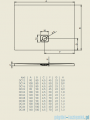 Riho Brodzik kwadratowy BASEL 430 100x100x4,5cm DC34