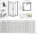 Radaway Essenza New Kdd-B kabina 90cm część prawa szkło przejrzyste 385071-01-01R