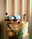 Sealskin Granada beż zasłona prysznicowa PCV 180x200cm 217001360