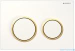 Geberit Omega20 przycisk spłukujący biały/złoty/biały 115.085.KK.1