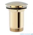 Omnires korek klik-klak do syfonu umywalkowego złoto A706GL