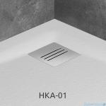 Radaway Kratka odpływowa do brodzika Kyntos stal nierdzewna HKA-01