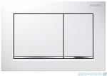 Geberit Omega30 przycisk spłukujący biały/chrom błyszczący/biały 115.080.KJ.1