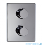 Omnires Y termostatyczna bateria natryskowa-wannowa podtynkowa z przełącznikiem chrom Y1236/K