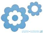 Sealskin Naklejki antypoślizgowe Antislip Flora niebieskie 311000220