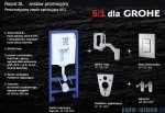 Zestaw podtynkowy Grohe Rapid SL Fresh 5w1 Cosmopolitan 38827000