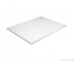 Besco Nox ultraslim white 120x80cm brodzik prostokątny biały/biały BMN120-80-BB