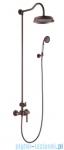 Omnires Armance system prysznicowy natynkowy miedź antyczna AM5244ORB