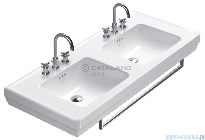 catalano canova royal 125 umywalka podw u00f3jna 125x54 bia u0142a