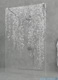Grawer na szkle dla kabin Radaway wzór Bluszcz