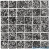 Dunin Spark mozaika szklana 30x30 carbon 48