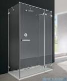 Radaway Euphoria KDJ+S kabina przyścienna 80x120x80 prawa szkło przejrzyste + brodzik + syfon 383812-01R/383220-01R/383051-01/383031-01/4AD812-01