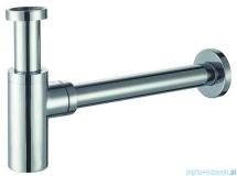 Alterna Iris półsyfon umywalkowy dekoracyjny okrągły chrom ALTN-914637