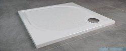 SanSwiss WMQ Marblemate Brodzik konglomeratowy 90x90cm biały WMQ090004