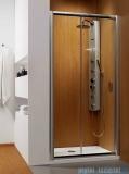 Radaway Premium Plus Dwj drzwi wnękowe 100cm szkło fabric 33303-01-06N