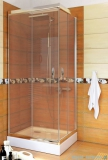 Sea Horse Stylio kabina natryskowa kwadratowa 90x90x190 cm przejrzysta BK502QT+