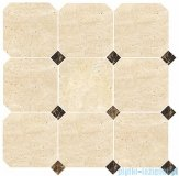 Dunin mozaika kamienna 30x30 travertine octagon 100