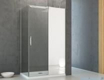 Radaway Espera KDJ Mirror kabina prysznicowa 100x80 prawa szkło przejrzyste 380495-01R/380230-71R/380148-01L