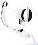 McAlpine syfon wannowy odpływowo-przelewowy slim MP31SSF-CBR