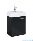 Elita Tiny Set szafka z umywalką komplet 45x61x30cm czarny połysk 165794