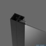 Radaway Profil U poszerzający Nes Black + 20 mm P01-276200054