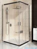 Ravak Blix BLRV2K drzwi prysznicowe 1/2 90cm białe transparent Anticalc 1XV70100Z1