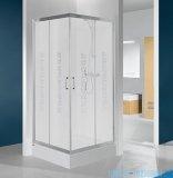 Sanplast kabina narożna kwadratowa KN/TX4-90 90x90x190 cm Sitodruk W14 600-271-0030-38-220