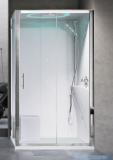 Novellini Eon kabina prostokątna z hydromasażem 120x80 prawa EON2P120DM1-1AK