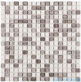 Dunin Woodstone mozaika kamienna 30x30 grey mix 15