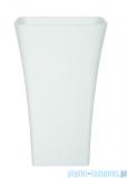 Besco Assos Glam srebrna umywalka wolnostojąca 41x52x85cm #UMD-A-WOS