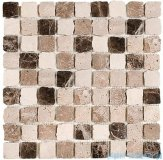 Dunin mozaika kamienna 30x30 travertine bend mix 32 matt