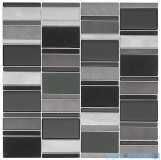 Dunin Metallic Allumi Piano Grey 73 mozaika metalowa 29,3x29,8cm