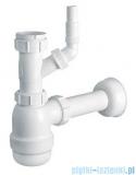 McAlpine syfon umywalkowy butelkowy z podłączeniem HC2WM-40