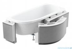 Schedpol zabudowa styropianowa z półką do wanien półokrągłych 1.052-led