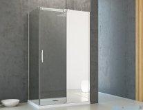 Radaway Espera KDJ Mirror kabina prysznicowa 100x100 prawa szkło przejrzyste 380495-01R/380230-71R/380140-01L
