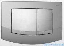 Tece Przycisk spłukujący do WC Teceambia ramka-chrom matowy przyciski-chrom połysk 9.240.253