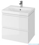 Cersanit Moduo szafka wisząca z umywalką 60x45x62 cm biała S801-223