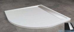 SanSwiss Ila Wir Brodzik półokrągły 100x100cm kolor czarny/połysk WIR5510050154