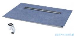 Schedpol brodzik posadzkowy podpłytkowy ruszt Stamp 120x90x5cm 10.011/OLDB/SP