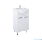 Elita Amigo Set szafka z umywalką komplet 50x83x44cm biały połysk 165409
